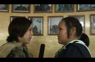 Inuit Throat Singing: Kathy Keknek and Janet Aglukkaq (long)