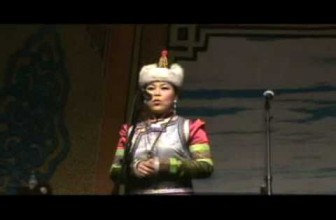 Female Mongolian Throat Singer