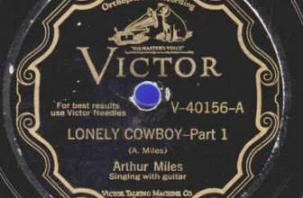 Arthur Miles – Lonely Cowboy Pt. I & II