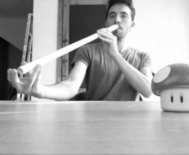 Come costruire un FLAUTO ARMONICO in due minuti – FAI DA TE