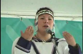 Inuit throat-singing demonstration