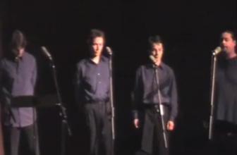 Concert at the Chalon-sur-Saône conservatory (2004) – Les Voix Diphoniques
