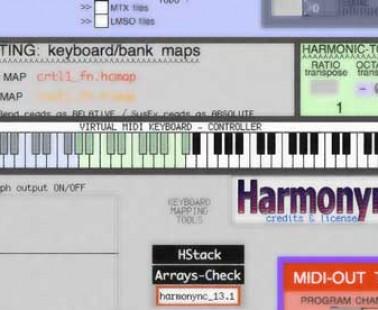 HARMONYNC: suonare gli armonici via MIDI