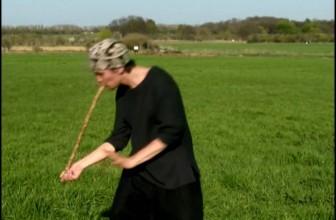 Nadishana – Overtone flute with pyrodesign.
