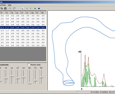VTDemo – Vocal Tract Acoustics Demonstrator