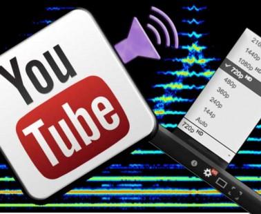 Qualità audio su YouTube®